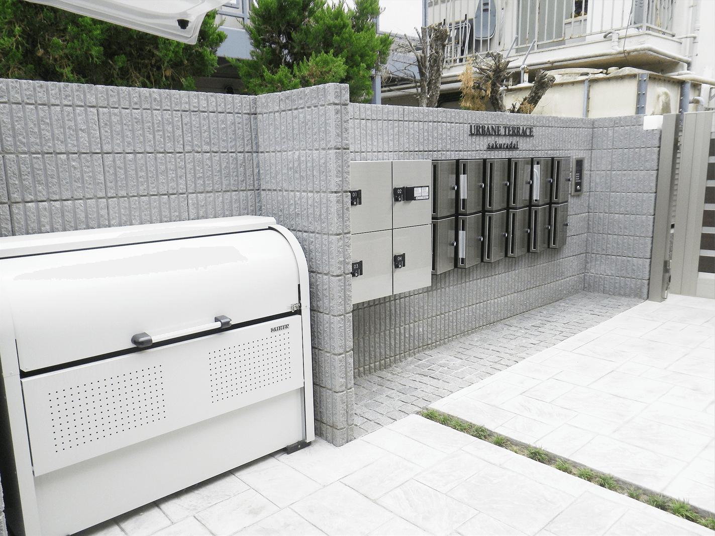 新築外構例-桜台