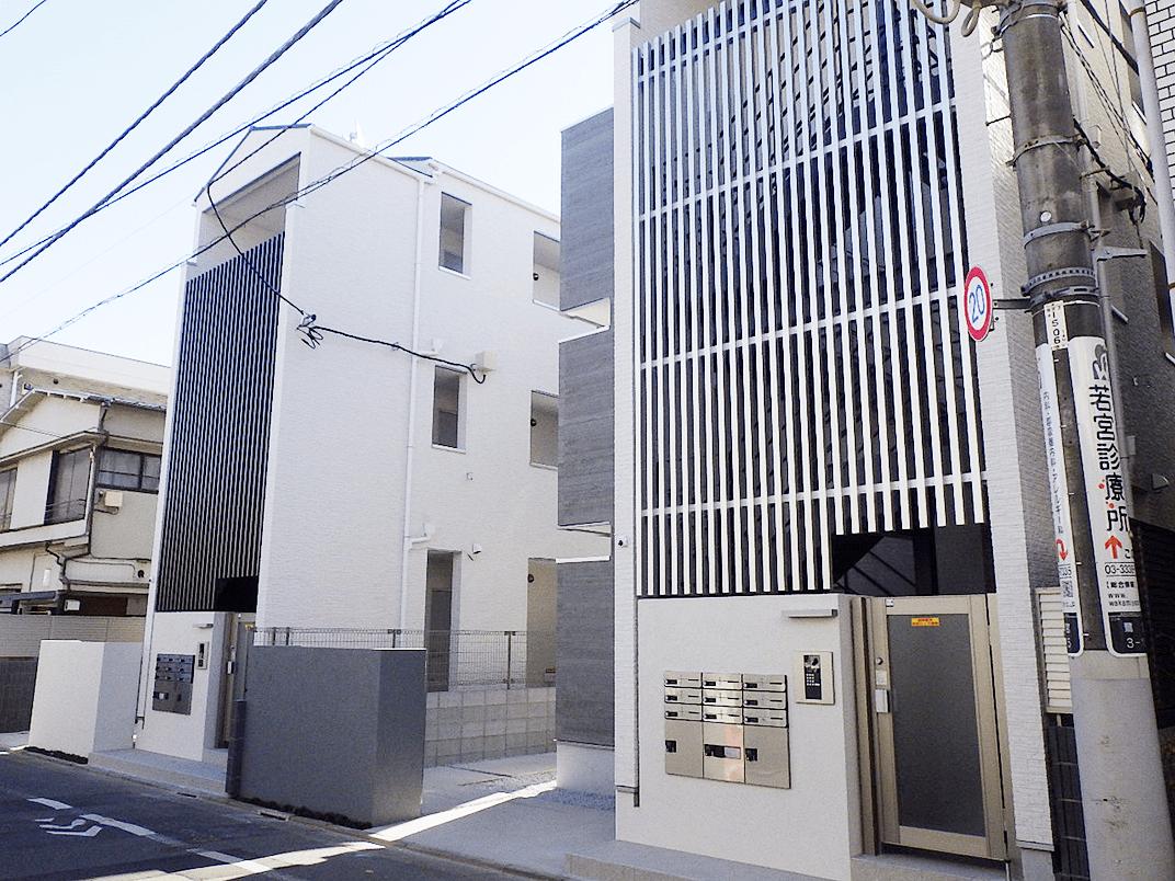 鷺ノ宮アパート現場-2