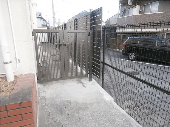 境界塀改修工事-after